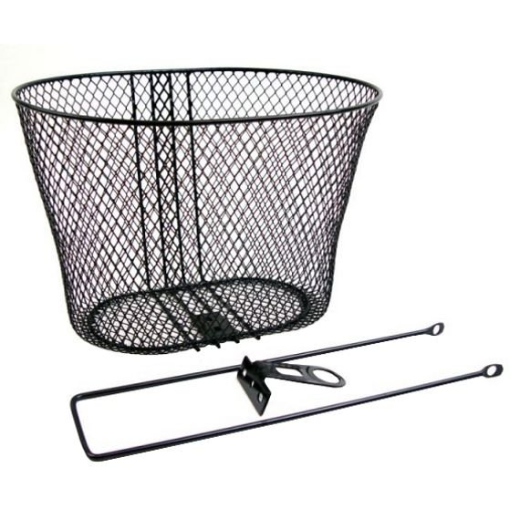 Bicycle basket AUTHOR AO-01 black