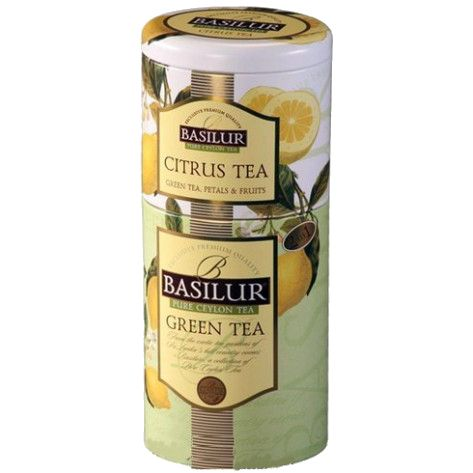 Tea BASILUR 2 in 1 Citrus tea-Green