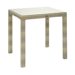 Стол EVELEKT Table Wicker 73X73