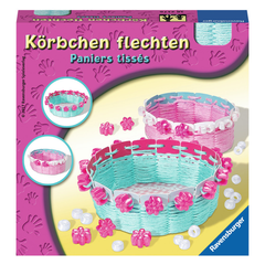 Kit for creative work RAVENSBURGER Körbchen Flechten