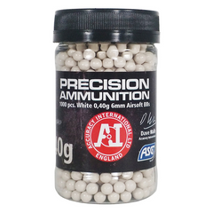Bullets ASG Airsoft BB 0.40G 1000 Pcs In Bottle White
