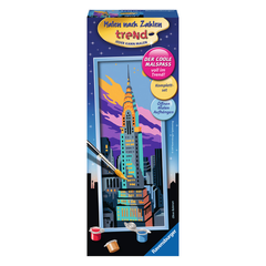Set for painting RAVENSBURGER Chrysler Building