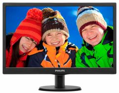 Monitors PHILIPS 193V5LSB2/10 Black