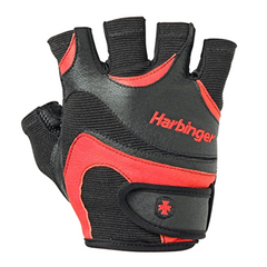 Перчатки для фитнеса HARBINGER FlexFit Blk/Red