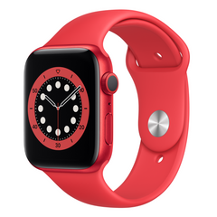Viedpulkstenis APPLE Series 6 44mm Red