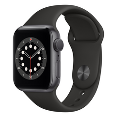 Viedpulkstenis APPLE Series 6 40mm Gray/Black