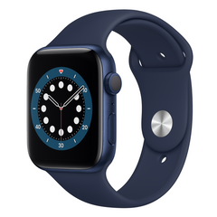 Viedpulkstenis APPLE Series 6 40mm Blue/Navy