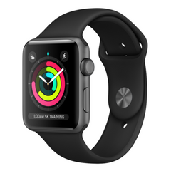 Viedpulkstenis APPLE Series 3 42mm Sport Aluminium Black