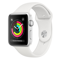 Smart watches APPLE Series 3 42mm Sport Aluminium Silver White
