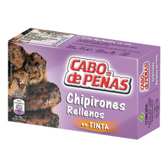 Sea delicacies CONNORSA Chipirones Rellenos En Tinta