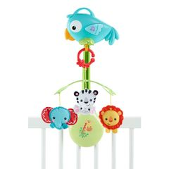 Карусель FISHER-PRICE Rainforest Friends 3-in-1 Musical Mobile