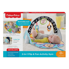 Play mat FISHER-PRICE 2 in 1 Flip And Fun Activity Gym