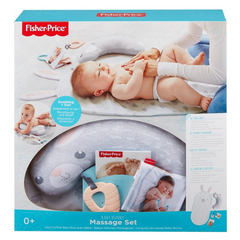 Massage mat and pillow FISHER-PRICE Baby Bunny Massage Set