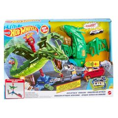 Trase HOT WHEELS Hot Wheels®Air Attack™ Dragon Play Set