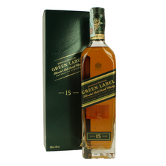 Whiskey JOHNNIE WALKER Green Label 15 Year Old 43%