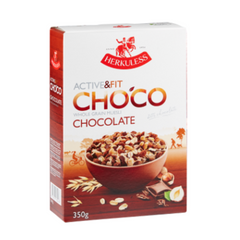 Мюсли HERKULESS Active & Fit Chocolate Grain Muesli