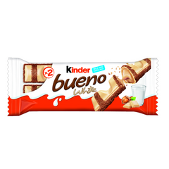 Batoniņš KINDER Bueno White