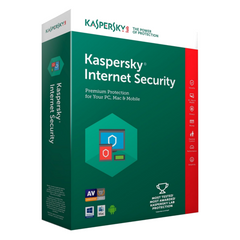 Антивирусная программа KASPERSKY Internet Security 2 PC 1Year