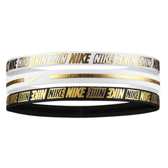 Matu lenta NIKE Metallic Headbands 3PK