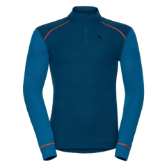 Thermal long sleeve shirt ODLO Shirt l/s 1/2 zip Warm
