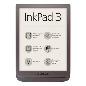 Электронная книга POCKETBOOK Inkpad3 Brown
