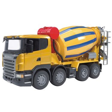 Mašīna BRUDER Scania R-Series Cement mixer