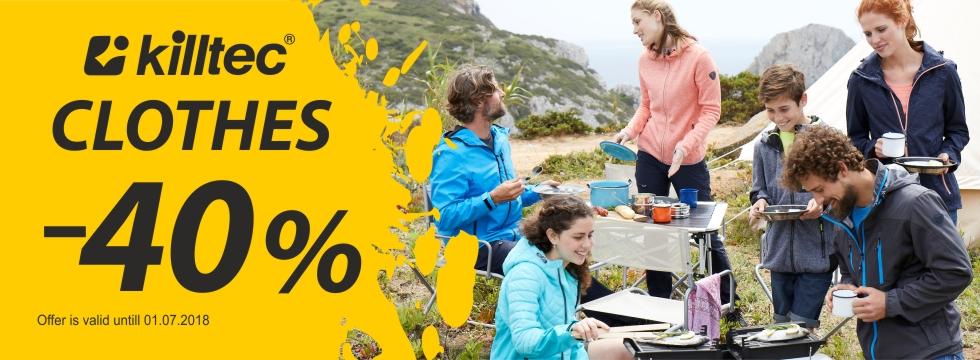 Killtec clothes -40%!
