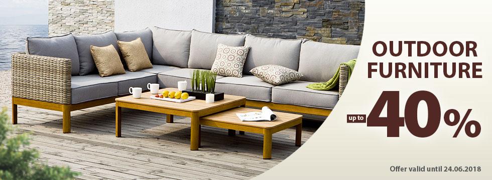 Outdoor furniture -40%!
