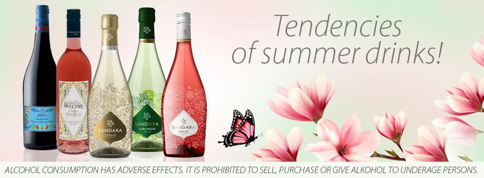 Tendencies of summer drinks!