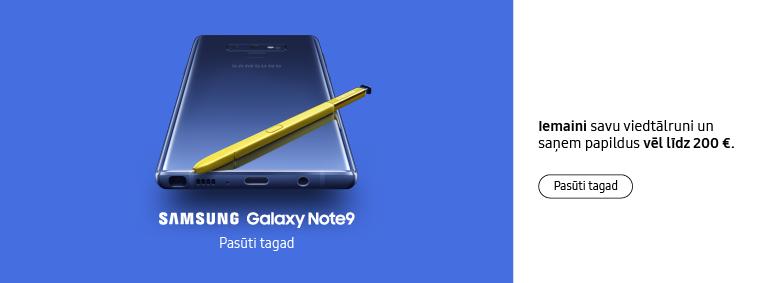 Samsung Galaxy Note9 - pasūti tagad!