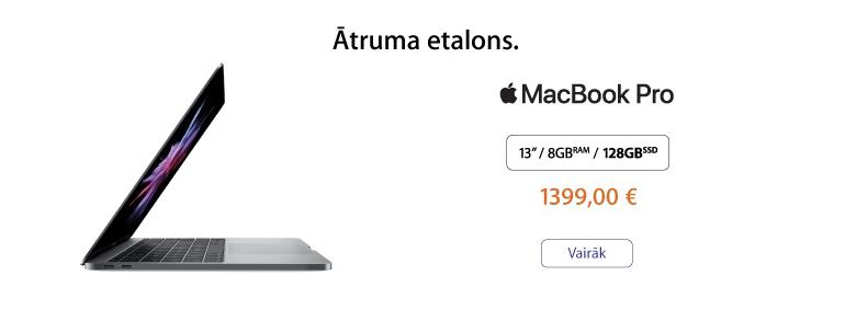 Ātruma etalons - MacBook Pro!