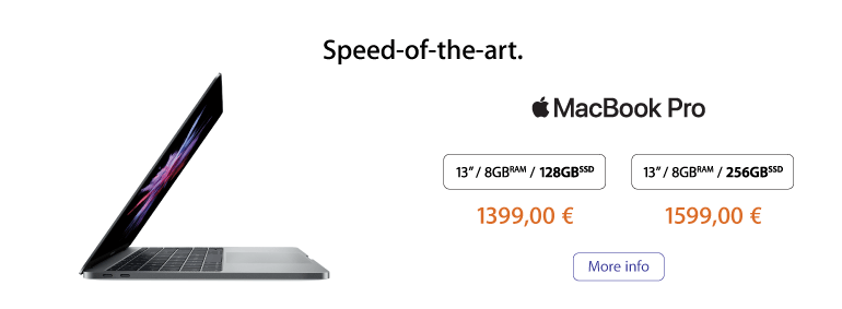 Speed of the art - MacBook Pro!
