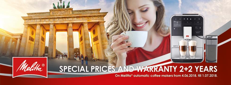 Melita - warranty 2+2 years!