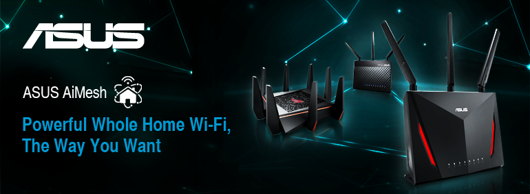 Asus - powerful whole home Wi-Fi the way you want!