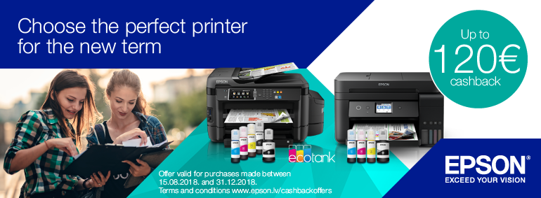 Choose the perfect printer for the new term!