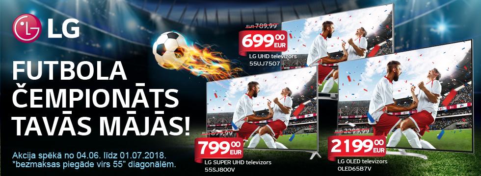 LG - futbola čempionāts Tavās mājās!