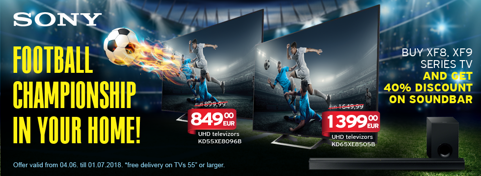 Sony - football championship in your home!