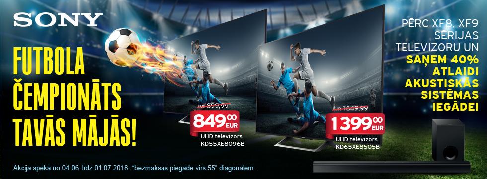 Sony - futbola čempionāts Tavās mājās!