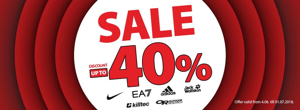 Sale -40%!