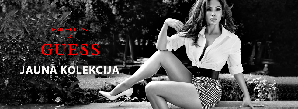 Jauna kolekcija - Jennifer Lopez for Guess!