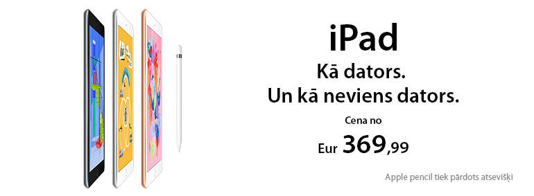 iPad - kā dators. Un kā neviens dators!
