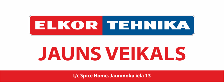Jauns veikals  - ELKOR TEHNIKA!