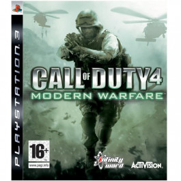 Pirkt PS3 spēle  Call of Duty 4 Modern Warfare  Elkor
