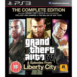 Pirkt PS3 spēle  Grand Theft Auto IV Complete Edition  Elkor