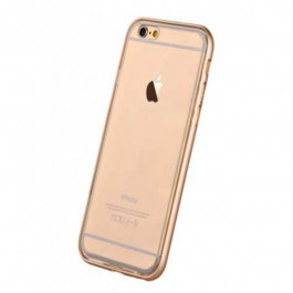 Buy Cover DEVIA Glitter for iPhone6/6s+ Champagne Gold DGLIT6P-CG Elkor