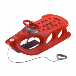 Buy Sled KHW Snow Shuttle de Luxe red 28301 Elkor