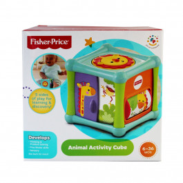 Buy Toy FISHER-PRICE Animal Acvivity Cube BFH80 Elkor