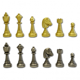 Buy Chess pieces ITALFAMA Chess/Men Metal Staunton HT-King 70M Elkor
