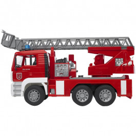 Buy Mechanical toy BRUDER MAN fire eng.w.waterp.and Lig.and Sound Module 02771 Elkor