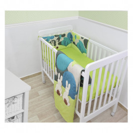 Buy Bedding Set TOTS Joy Rabbits Green Set 240103 Elkor